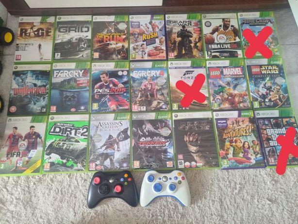 Xbox 360 GTA V, Dirt, Need For Speed Run, Minecraft, Forza, Far Cry