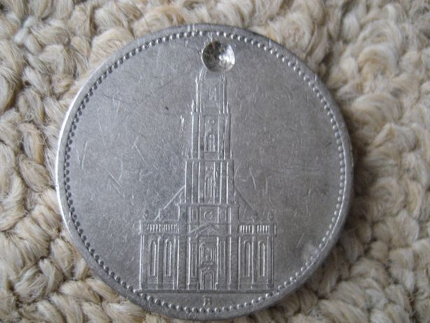 Монета 5 Reichmark 1935.