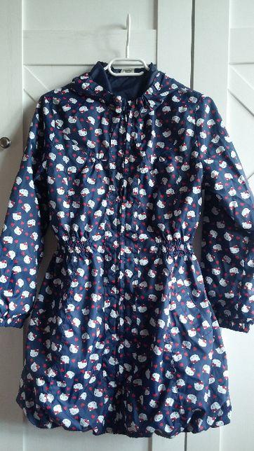 jak nowa Hello Kitty kurtka wiosenna płaszczyk dla dziewczynki 146 152