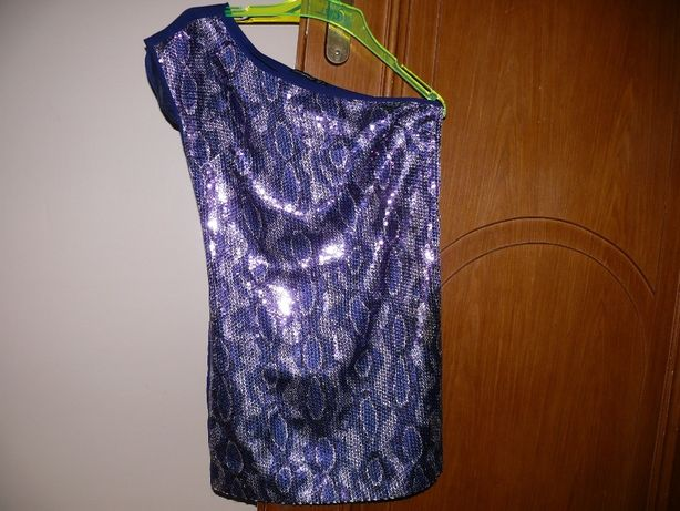 Sukienka mini cekiny r. S SYLWESTER