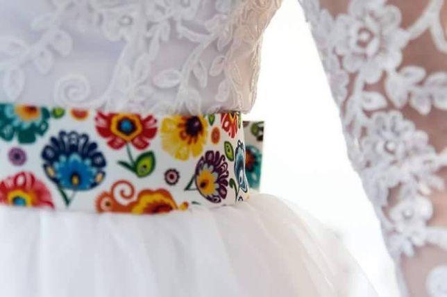 Suknia ślubna od krawcowej