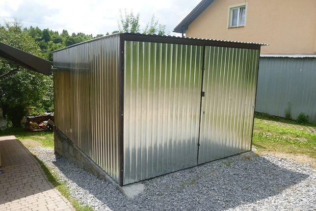 Garaż Blaszany Blaszak na budowę Garaże BUDOWA blaszaki PRODUCENT