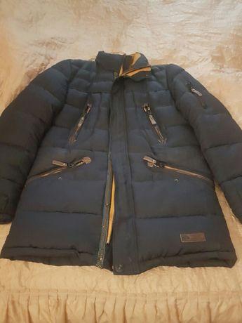 Мужская куртка пуховик+подарок