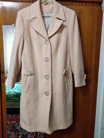 Кашимірове пальто розмір 46-48