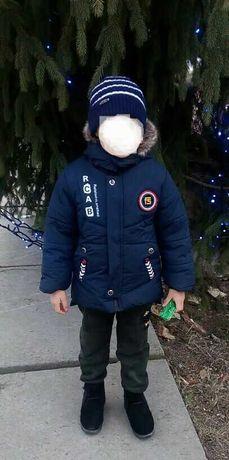 Продам куртку зимнюю на 5-6 лет, рост 116/ 122