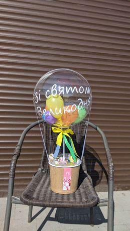 Пасхальний подарунок Композиція з шаром баблс Повітряна куля Оракал