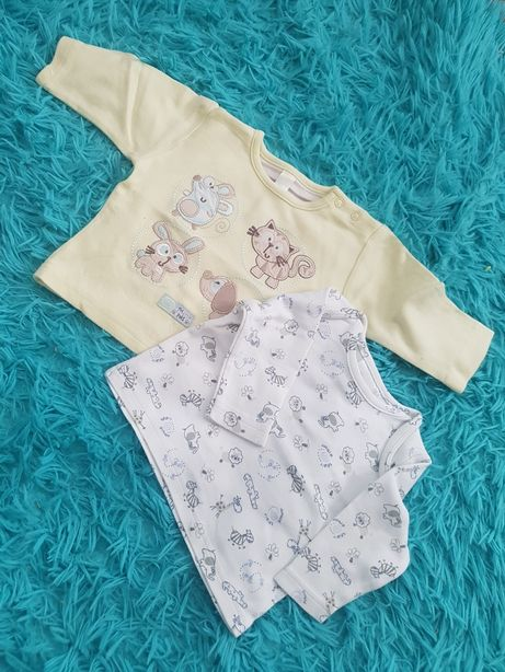 Bluzka długi rękaw koszulka niemowlak