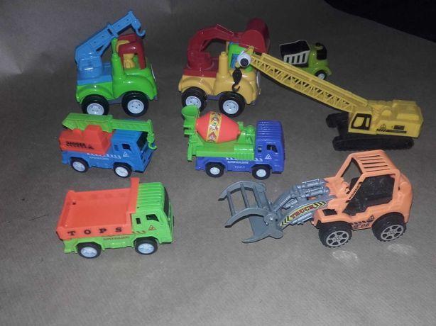 Zabawki  plac budowy i inne autka