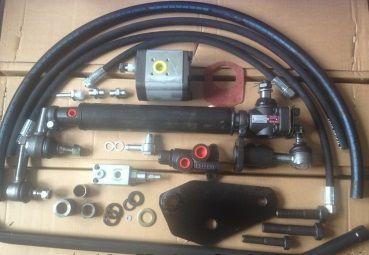 Kits direção assistida/hidraulica para tractores diversos