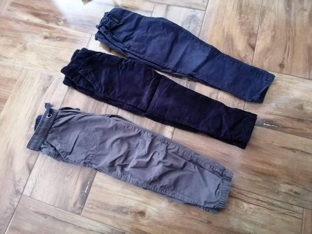 Spodnie dla chłopca 110 116