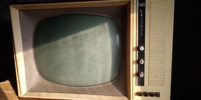 telewizor LAZURYT antyk