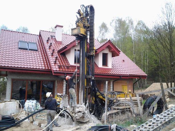 Studnie Głębinowe wiercenie studni podłączenia do domu Pompy Ciepła