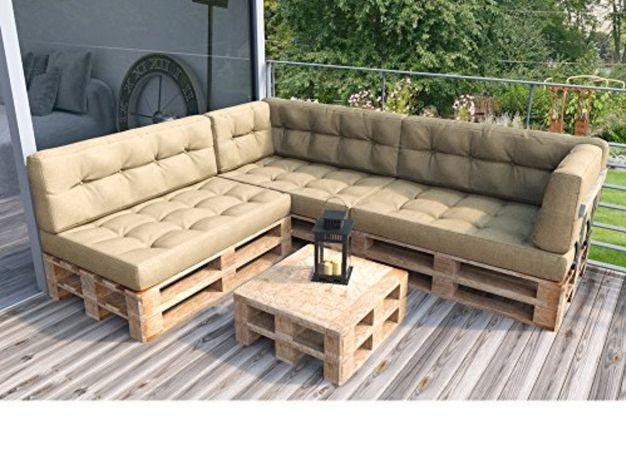 Подушки и матрасы для садовой мебели