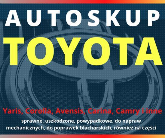 Skup aut TOYOTA Avensis Corolla Carina Mercedes VW Bus-y Kasacja TOYOT