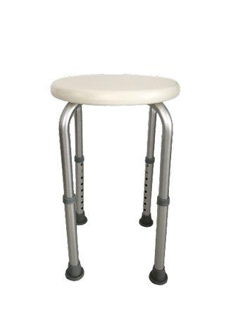 Krzesło taboret dla niepełnosprawnych pod prysznic