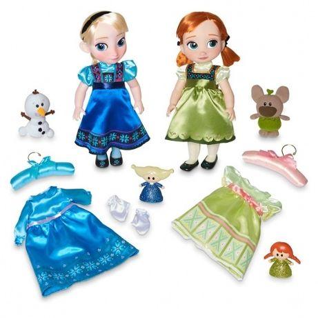 Поющие куклы Анна и Эльза - Подарочный набор - Распродажа!i