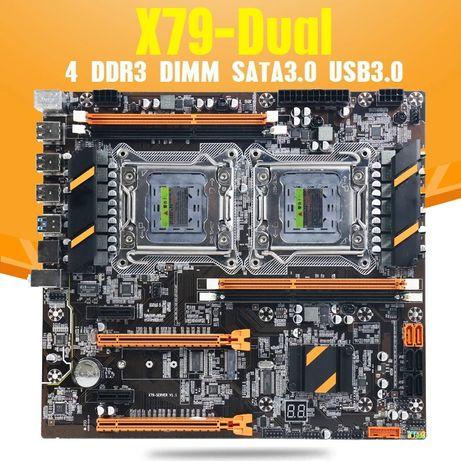Machinist X79-P2D + 2 CPU Xeon E5-2670 v2 +16 Gb DDR3 Kingston ECC REG