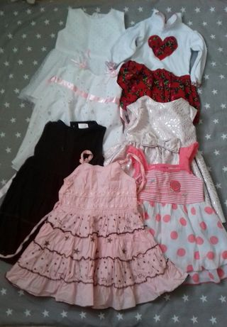 ubranka dla dziewczynki 80