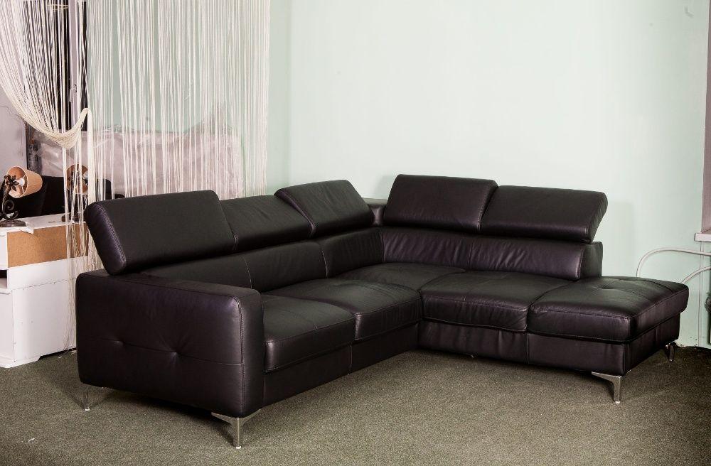 новый кожаный угловой диван Германия Александрия - изображение 1