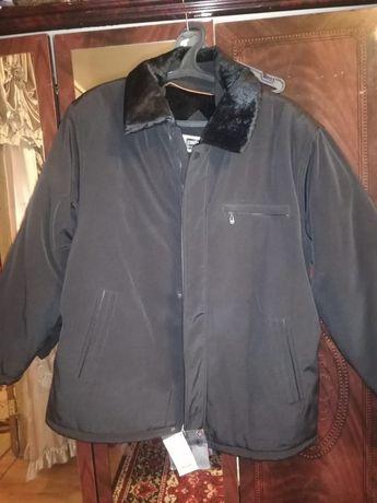 Мужская новая тёплая куртка 60-64