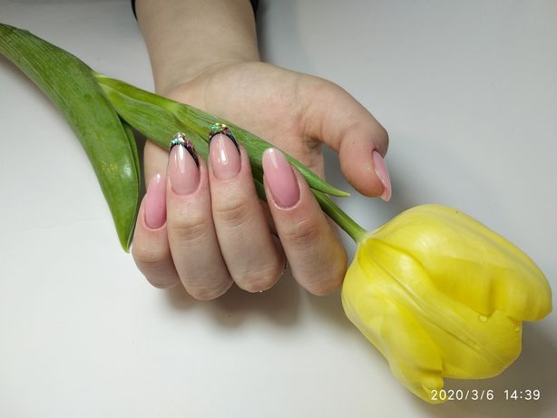 Гель-лак, маникюр,наращивание ногтей, Педикюр