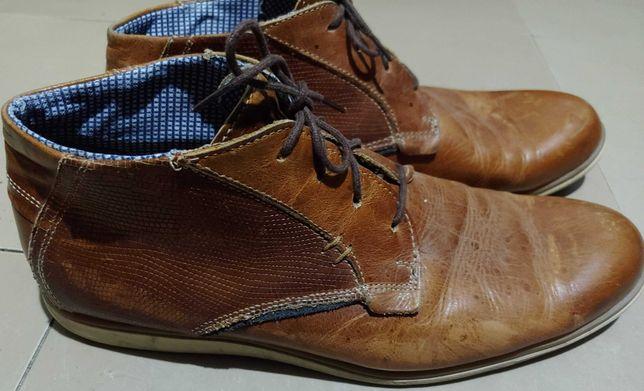 ботинки Texto 41р. 26см нат кожа, демисезон