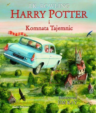 Harry Potter i komnata tajemnic- ilustrowana - J.K. Rowling