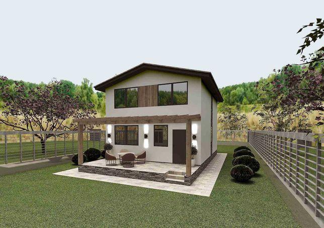 Продам дом с терасой +проект в подарок от владельца самая низкая цена