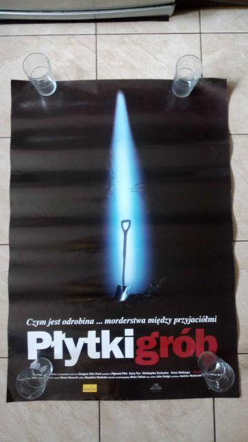 Płytki grób plakat filmowy