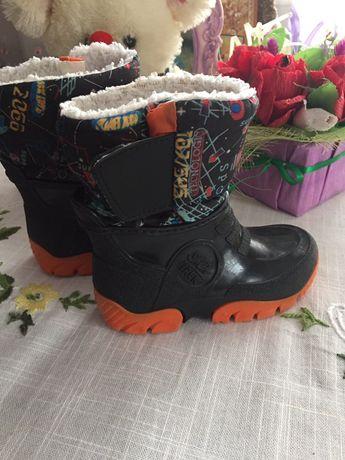 Утеплені резинові чобітки