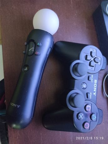 Konsola PS3 + gry pady kamerka uchwyt na tv