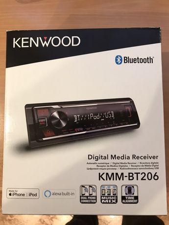 Radio Samochodowe Kenwood KMM-BT 206