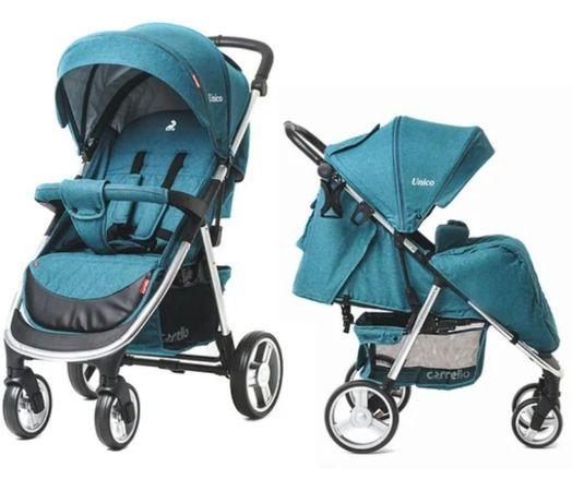 2019года один ребёнок,  коляска carello прогулочная коляска