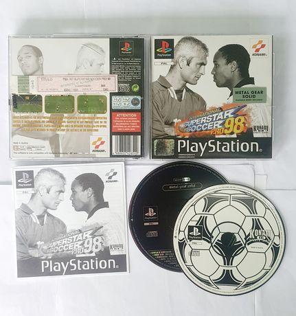 ISS PRO 98 (versão Metal Gear Solid demo) Playstation 1 PS1 Jogo psx