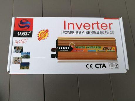 Преобразователь инвертор UKC 24V-220V 1500W