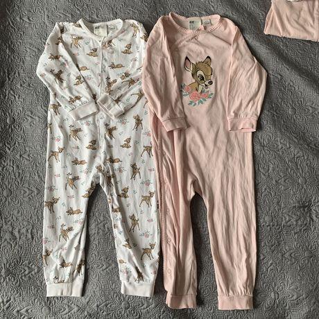 Piżamy Bambi H&M 2-pak