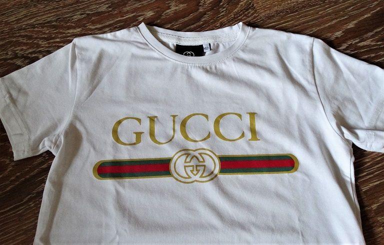 Rewelacyjny t-shirt bluzka biała Gucci 152 Sulęcin - image 1