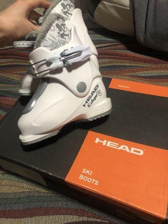 Head ботинки лыжные детские