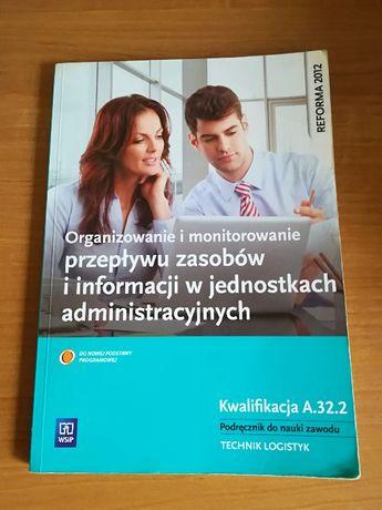 Organizowanie i monitorowanie przepływu zasobów Kwalifikacja A.32.2