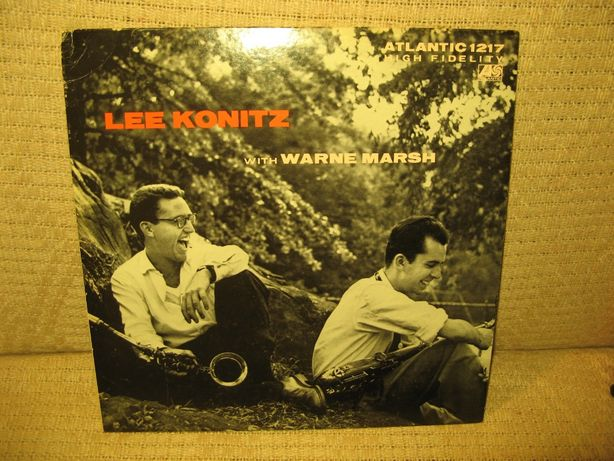 Lee Konitz With Warne Marsh Japan LP ATLANTIC 1st press WINYL JAZZ !!!
