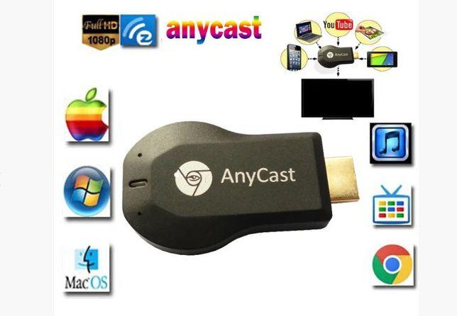 Anycast M9, WiFi Miracast, MiraScreen, HDMI-адаптер