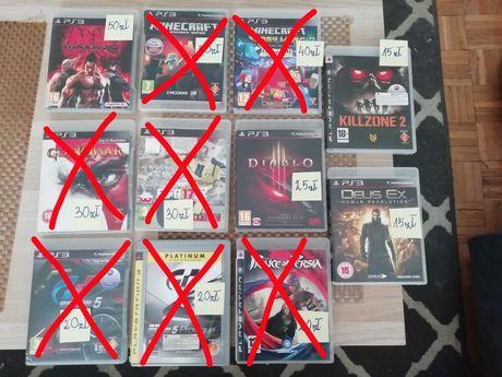 Gry PS3 Playstation 3 Tekken 6,Minecraft, i inne