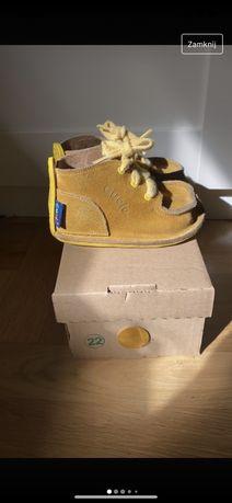 Sprzedam buty gucio musztardowy lolor r. 22