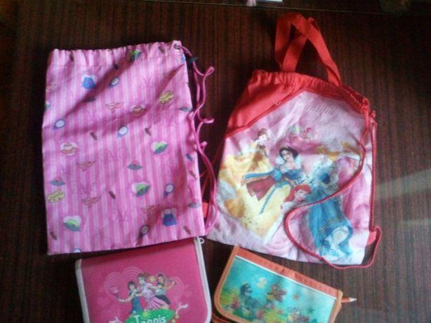Школьные пренадлежности: сумочка/пенал