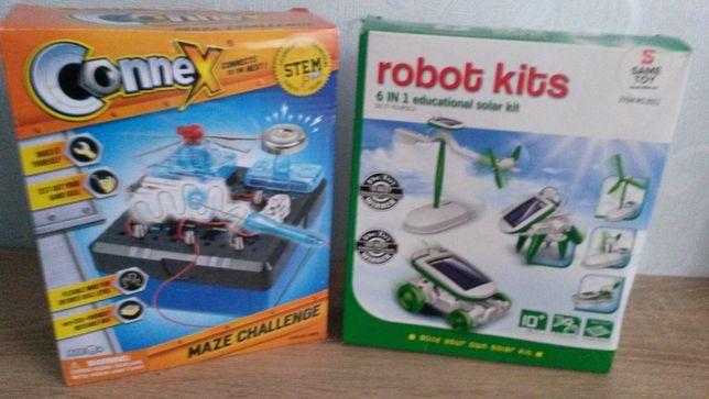 робот на солнечной батарее 6 в 1 Robot kids SOLAR и Connex