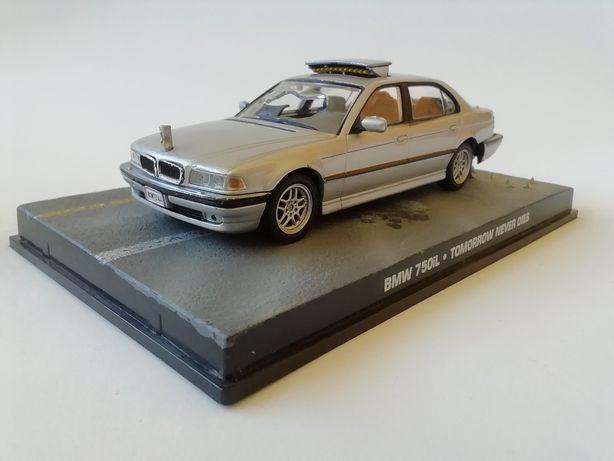 1/43 BMW 750 IL - James Bond [007] (Miniatura - Eaglemoss)