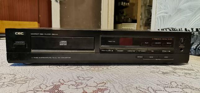 Sprzedam uszkodzony odtwarzacz CD C.E.C 580 CD