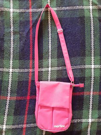 Carteira cor-de-rosa