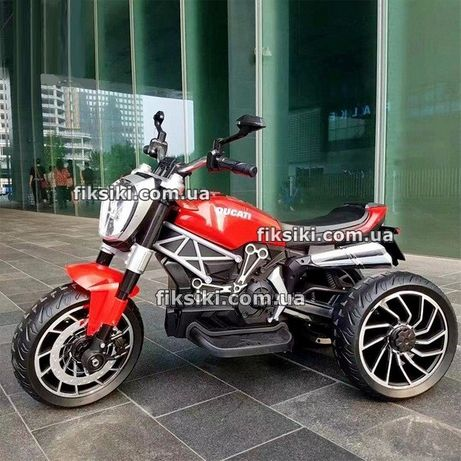 Детский мотоцикл 4008 RED электромобиль, Дитячий електромобiль