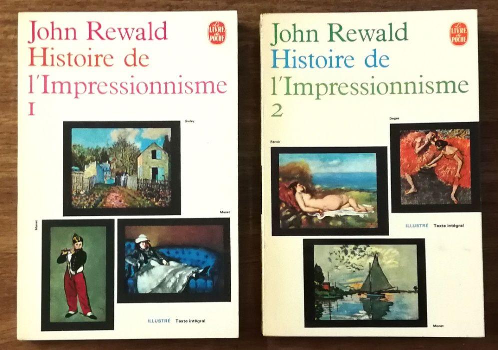 john rewald, histoire de l`impressionisme Estrela - imagem 1